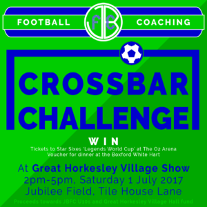 JBFC Crossbar Challenge at Great Horkesley Village Show