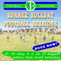 Summer Holiday Football Sessions in Colchester