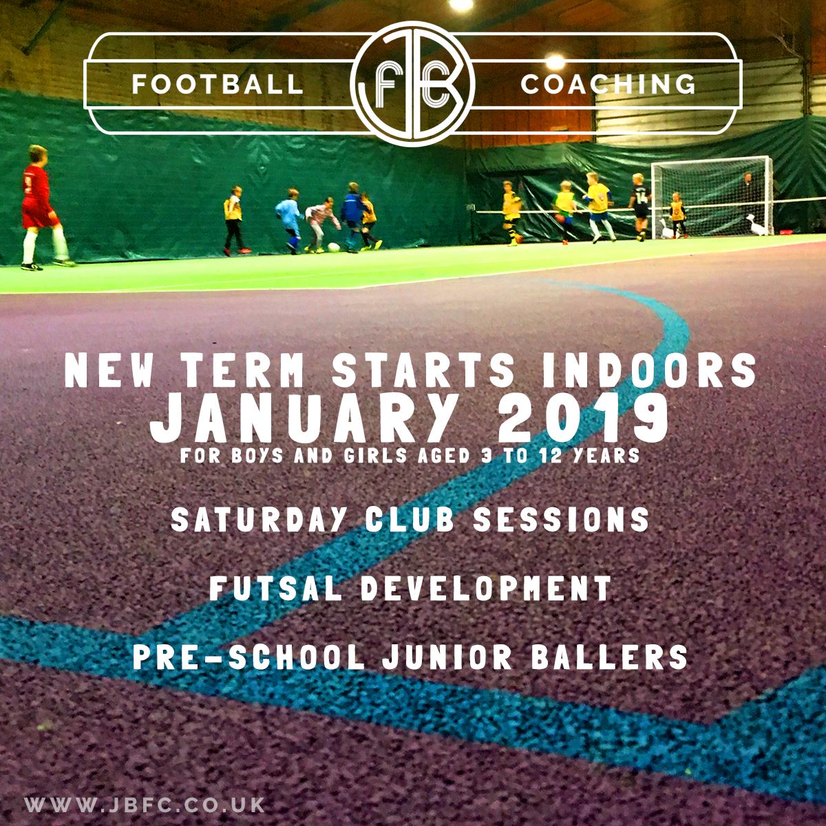 JBFC Kids Football Coaching 2019