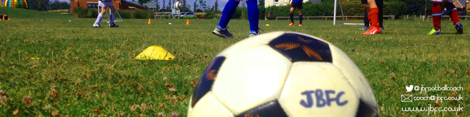 JBFC Jamie Bradbury kids football coaching school holiday football camps