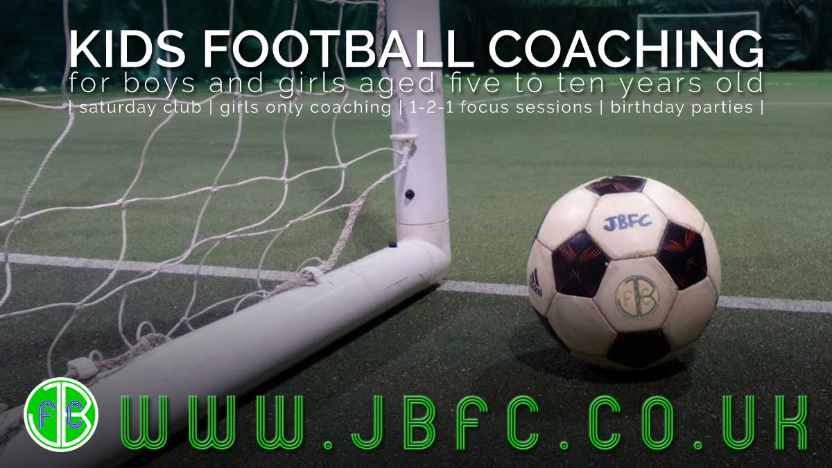Find a class for kids football coaching in Colchester, Essex with JBFC