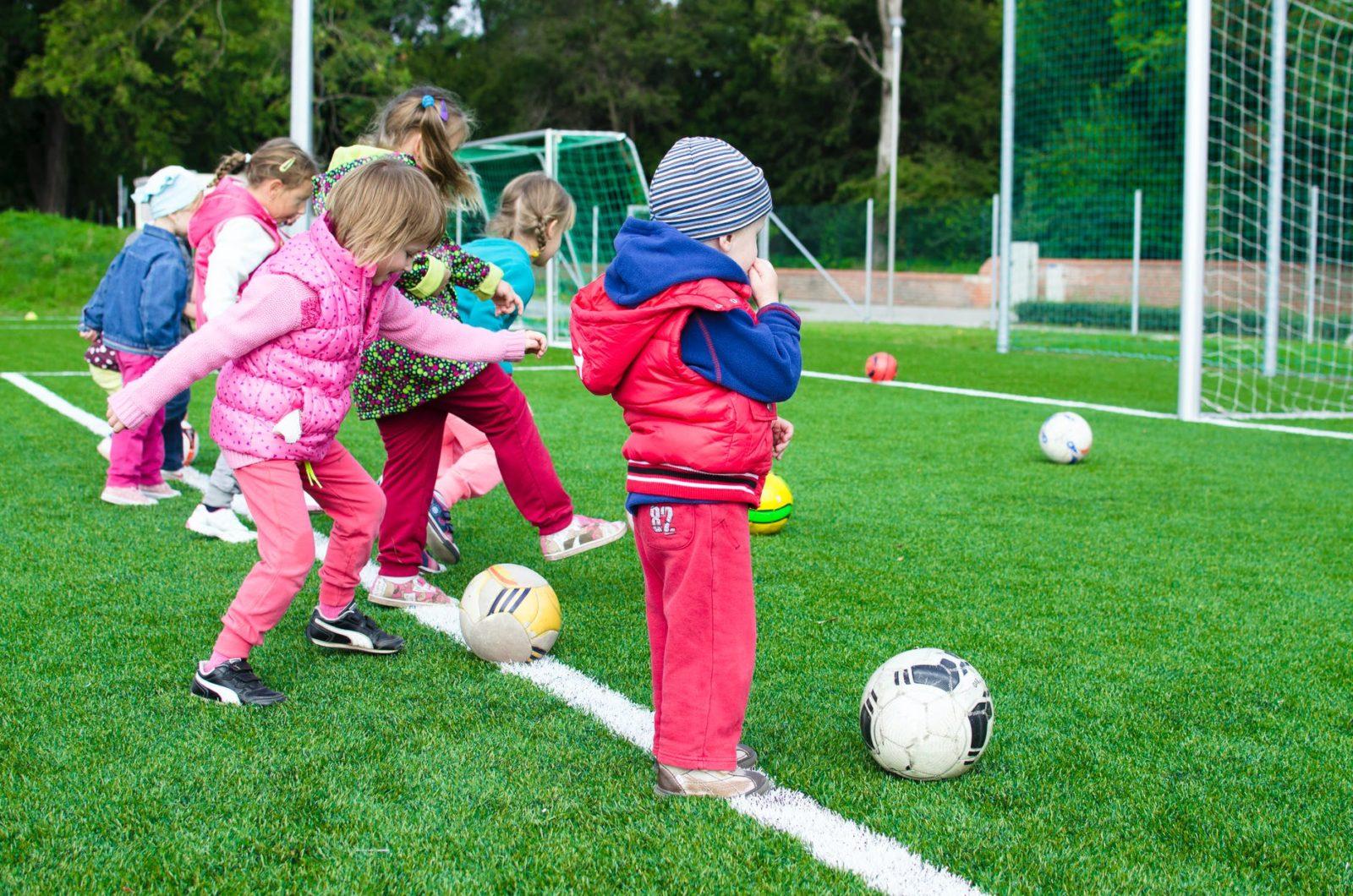 pre-school kids football colchester
