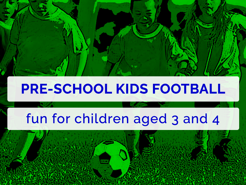 pre-school kids football in Colchester