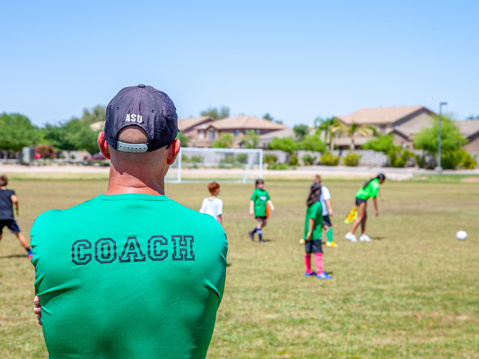 Become a football coach